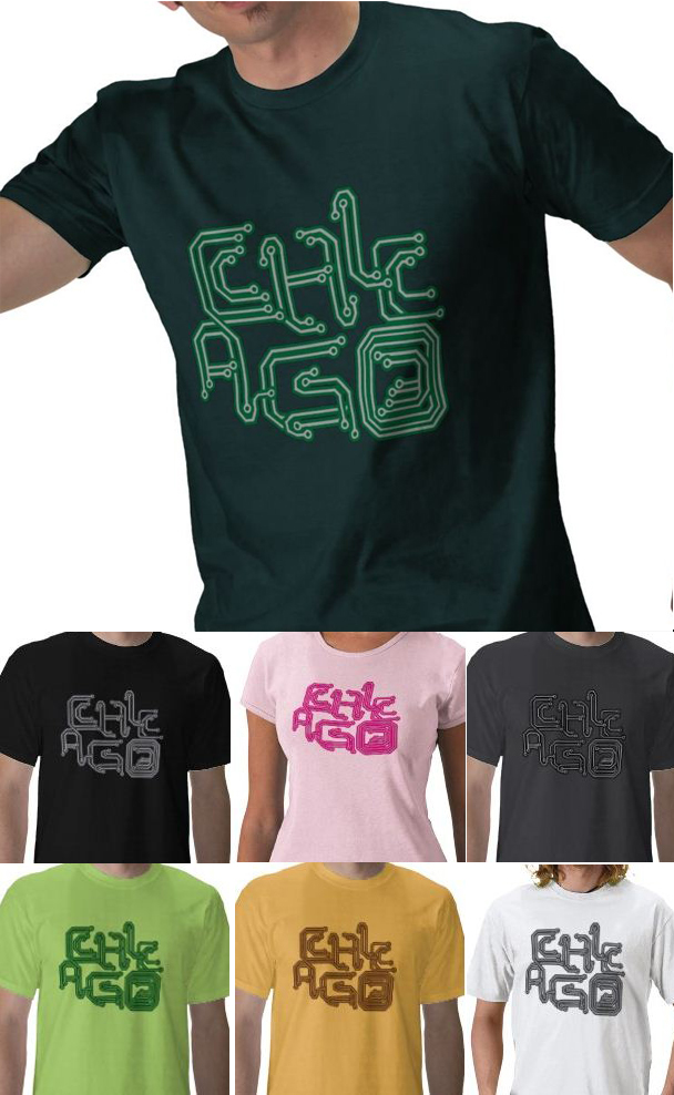 chicago electronic music t-shirts